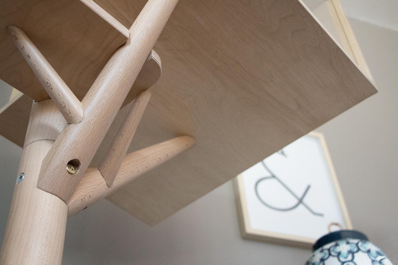 Arbre A Chat Mural Design arbre à chat scandinave + maisonnette - eden & mitaine