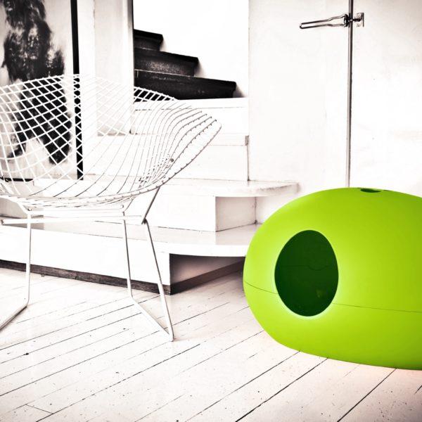Litière design verte