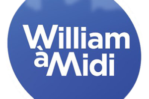 Logo emission william à midi