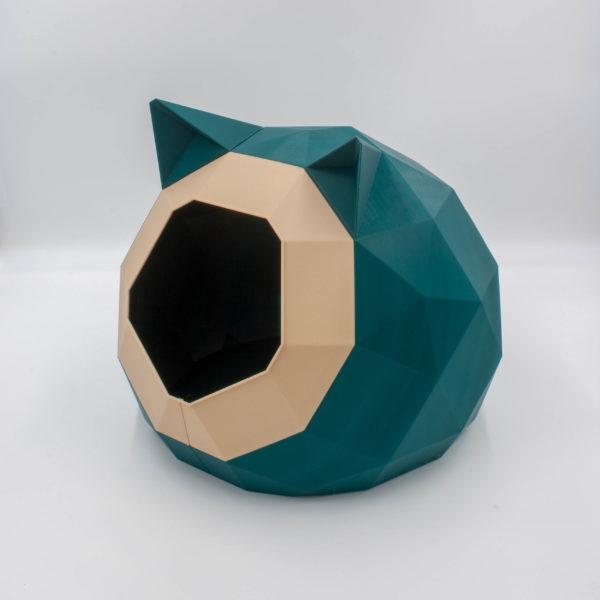 Couchage pour chat - Niche imprimée en 3D