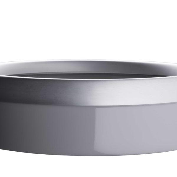 Litière ouverte en céramique grise